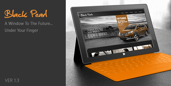 Black Pearl - Responsive WordPress Theme